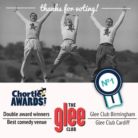 The Glee Club Nottingham: Double award-winners! Best Comedy Venue 2014