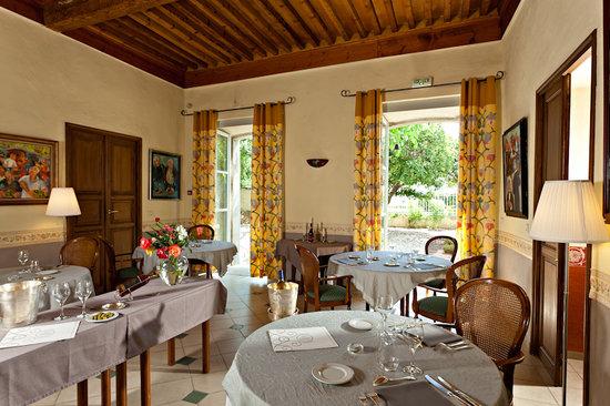 Chateau de Siran : la salle à manger