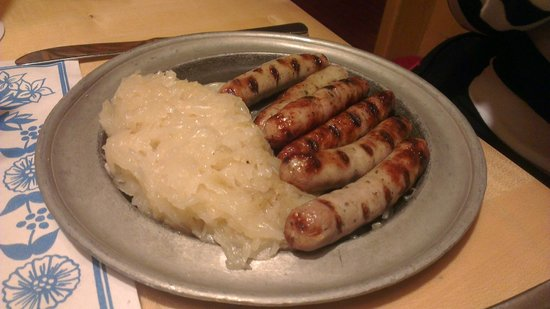 Bavarium: Traditional sausage