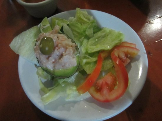 Las Brisas : Shrimp stuffed avocado