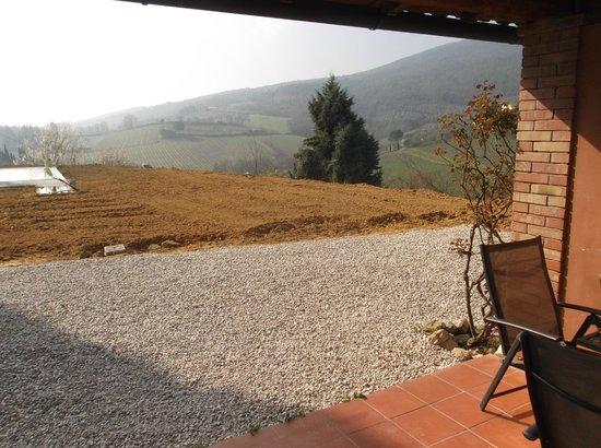 Villa del Sole: vista panoramica dalla stanza
