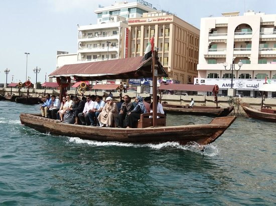 Crossing Dubai Creek