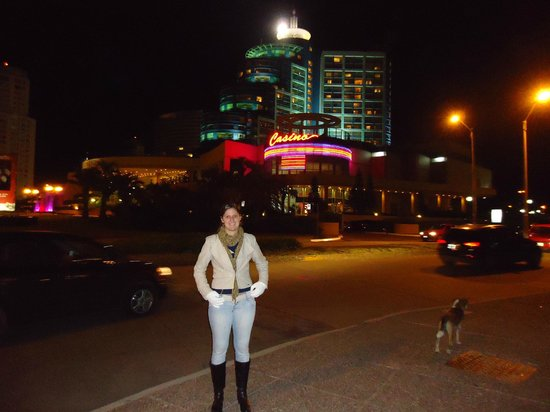 Conrad Punta del Este Resort & Casino : Frente do Conrad!