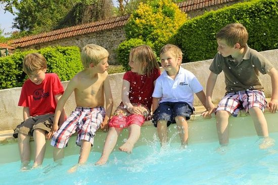 La piscine picture of gite du soldat carouge roucy for Carouge piscine