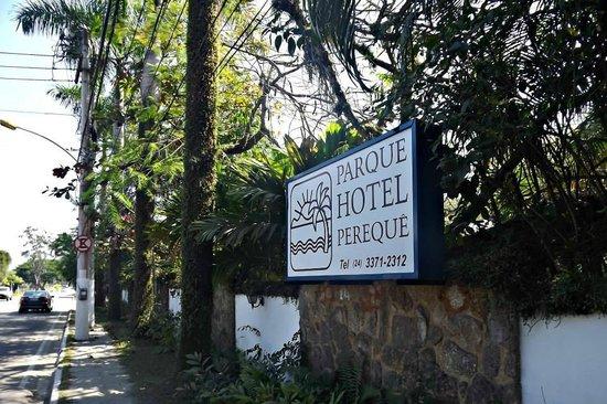 Parque Hotel Pereque: Entrada do hotel