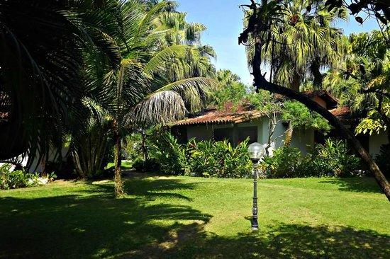 Parque Hotel Pereque: Vista externa do apartemento