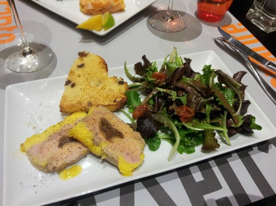 Gazzetta : Foie gras (à tomber, je conseille le VT Mosellan qui va avec)