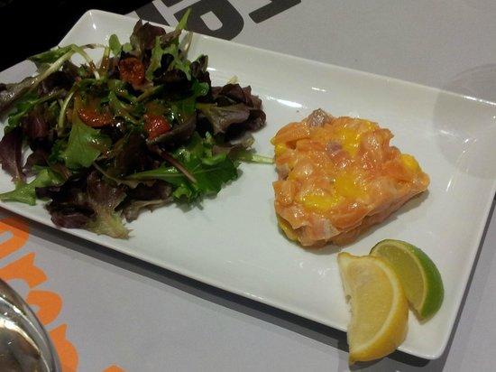 La Gazzetta : Tartare de saumon