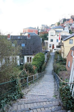 Treppenviertel: making our way down the steps