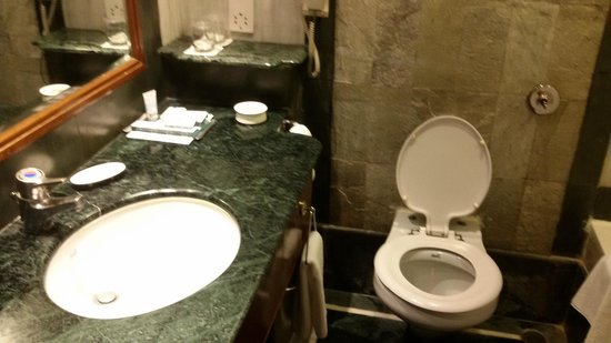ITC Kakatiya: Bathroom with granite