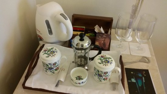 ITC Kakatiya : Beautiful cups for your coffee/tea