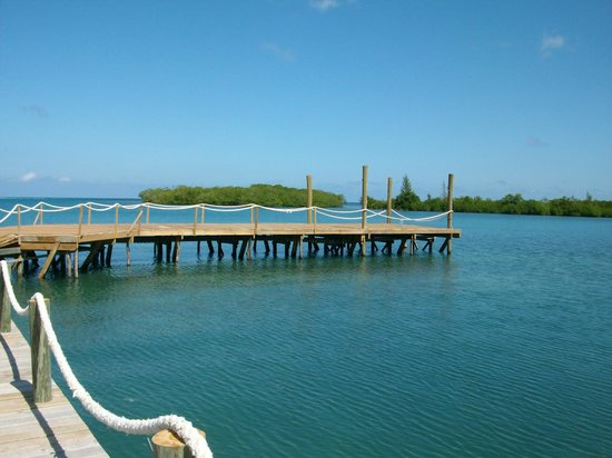 Turquoise Bay Dive & Beach Resort: dock
