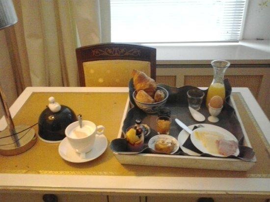 Prince Henry, Private Suites and Gardens: colazione da sogno...