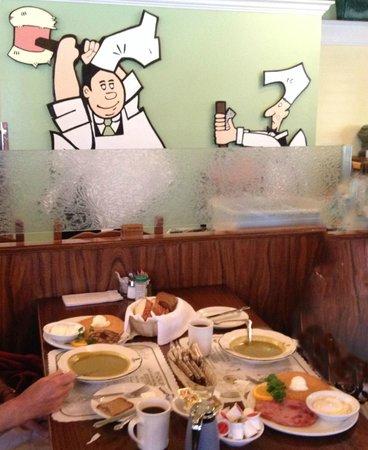 Pea Soup Andersen's : Travellers Special Breakfast