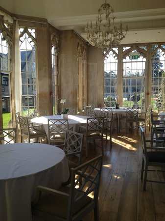 Foxhills: The Orangery - site of our family dinner