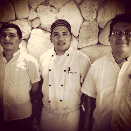 Maya Tulum Resort: los jefes de cocina