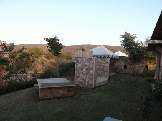 Tree of Life Resort & Spa Jaipur : private garden