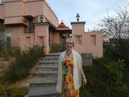 Tree of Life Resort & Spa Jaipur : Outside the bungalow