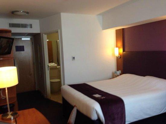 Premier Inn London Greenwich Hotel: Bedroom