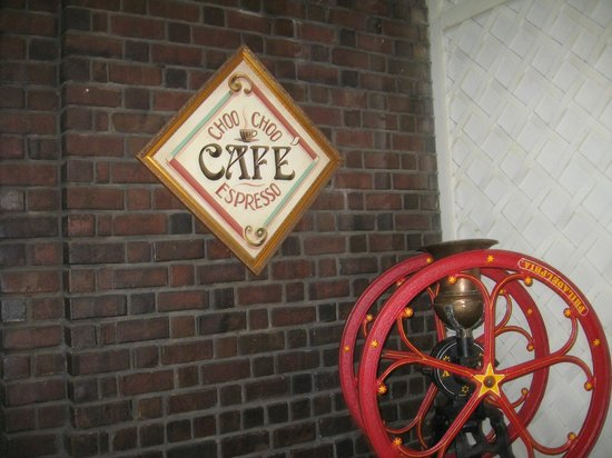 Chattanooga Choo Choo : Cafe entrance
