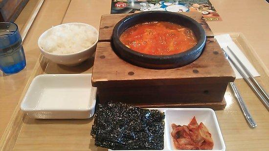 Hanche Aeon Mall Musashi Murayama: 純豆腐チゲ