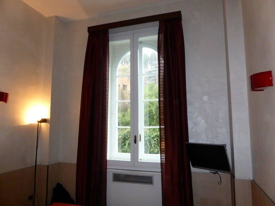 Kolbe Hotel Rome: triple room with view of the forum