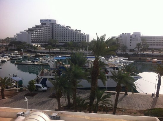 Caesar Premier Eilat : View from the balcony of my room