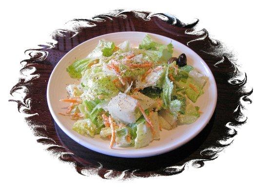 Carrabba's Italian Grill: Average house salad