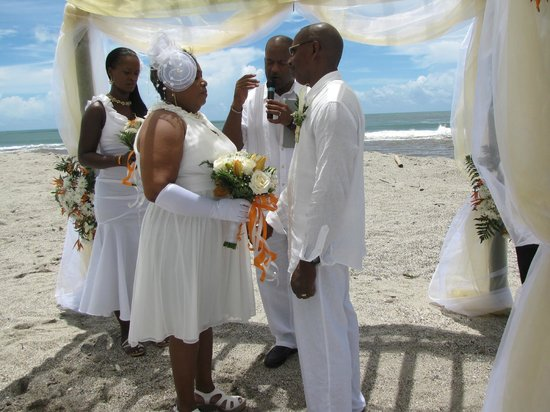 Le Grande Almandier: A beach wedding.we can take care of everything for you.