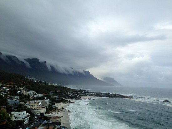 Cape View Clifton : Stormy view from our suite