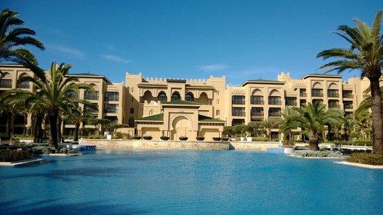 Mazagan Beach & Golf Resort: POOL VIEW