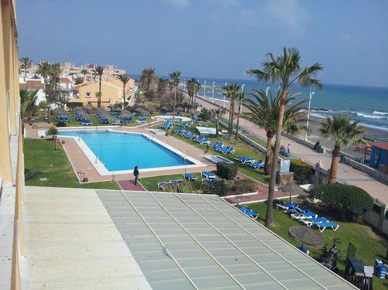 Tryp Malaga Guadalmar Hotel: Der Aussenpool