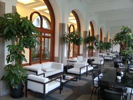 IBEROSTAR Grand Hotel Mencey: Bar - Außenbereich