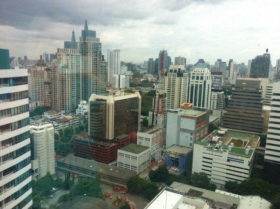 InterContinental Bangkok : Вид из комнаты