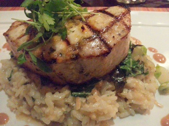 Waterside Grill: Grilled Swordfish with Coconut Risoto