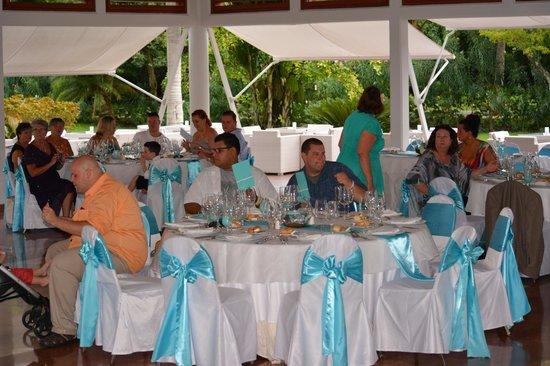 Barcelo Bavaro Palace Wedding Reception