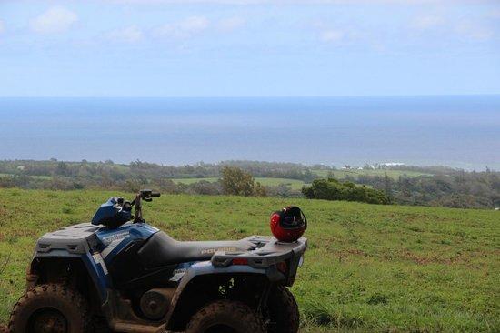 ATV Outfitters Hawaii: View from Kohala Ranch near Kapaau, Hawaii