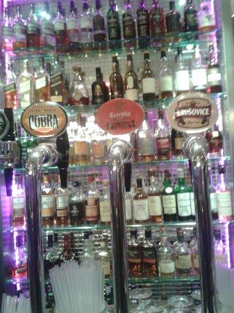 Tigerlily Restaurant & Bar: The range of malt whiskies on offer