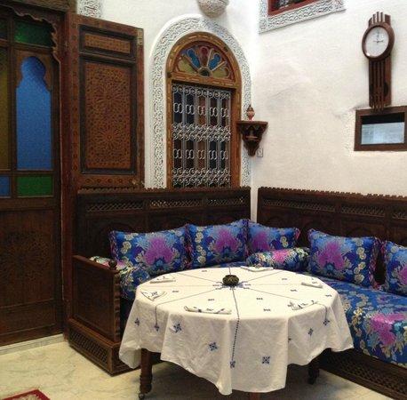 Dar El Ouedghiri : patio