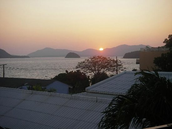 Kantary Bay, Phuket: Sunset view from room 203