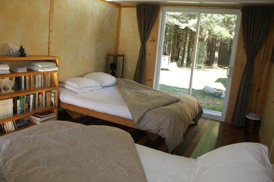 Au Sommet du Fjord : Chambre pour 4 avec accès au spa
