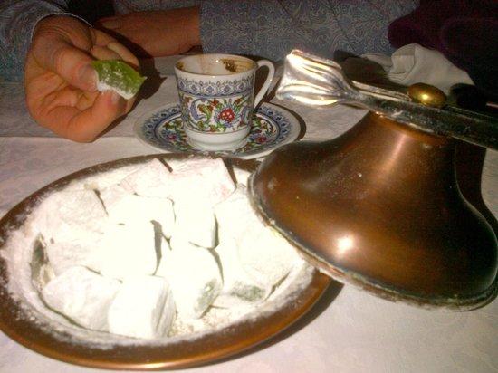 Pasazade Restaurant Ottoman Cuisine : Lokum, tanto zuccherosi quanto dannosi