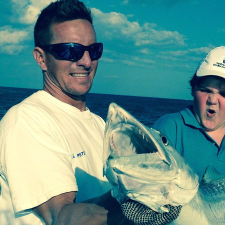 Therapy IV Deep Sea Fishing Experience: Great day for us...bad day for the barracuda!!