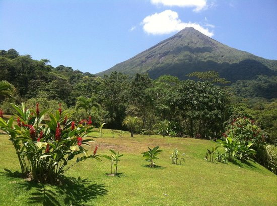 Hotel Lomas del Volcan: View from cabin