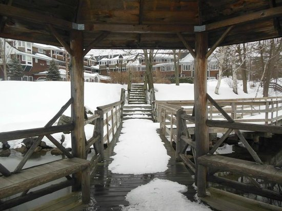 Church Landing at Mill Falls: View from the gazebo