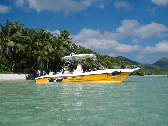 "Amitie, Seychelles: Boat ""Dyab Lavwal"" 29ft long"