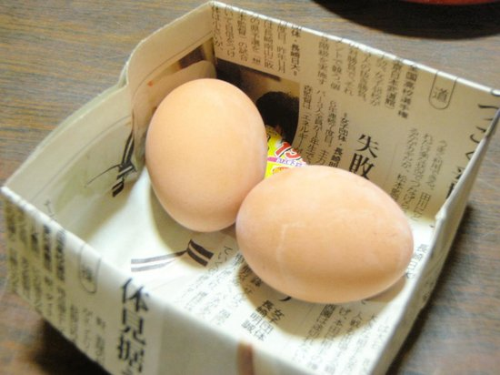 Unzen Iwaki Ryokan: ウェルカム温泉玉子