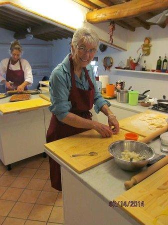 Tenuta Casanova : Mom making pasta