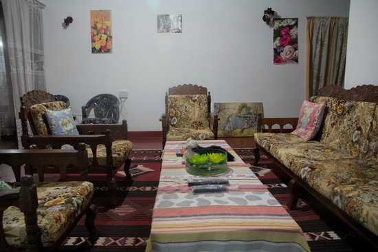 Eeshani Guest Inn : The living room of the home owners