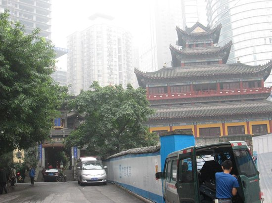 InterContinental Chongqing: 附近的羅漢寺